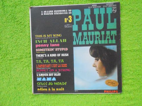 ºlp paul mauriat  p/1967- a grande orquestra nº 03