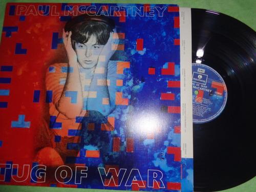 lp paul mccartney, tug of war - 1982