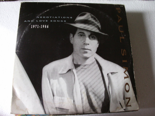 lp paul simon - negotiations and love songs-1971/1986