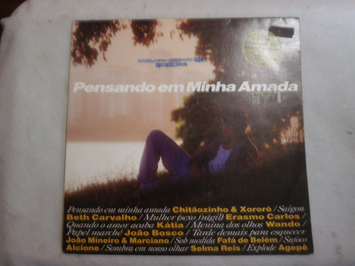 lp pensando na minha amada, vinil coletânea sertaneja, 1993