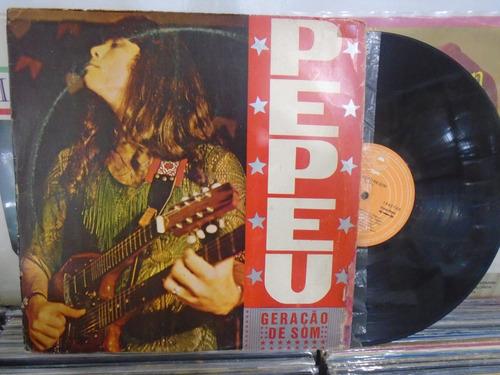 lp - pepeu / geração de som / epic / 1978