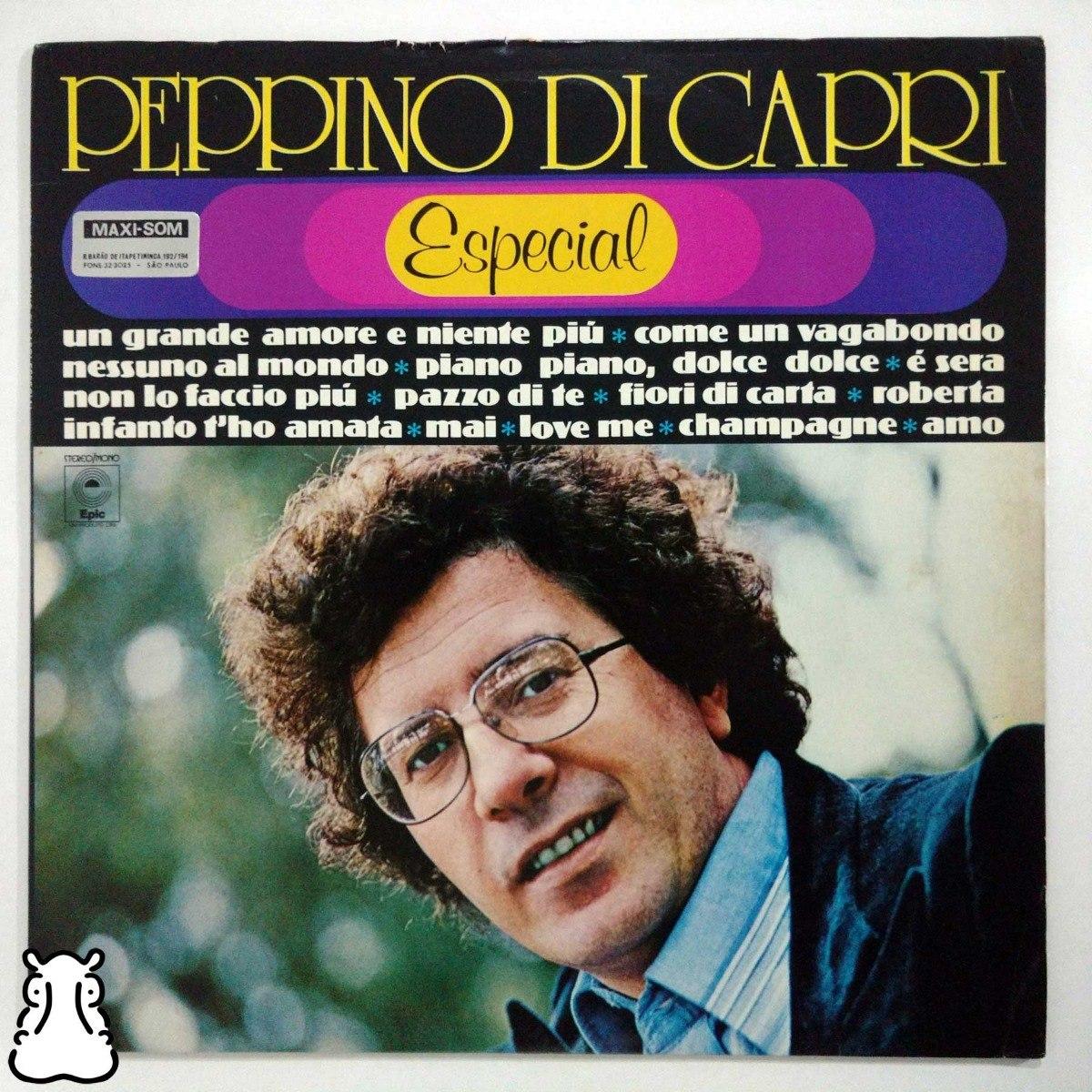 a3cb14410f0 Lp Peppino Di Capri Especial Disco Vinil Roberta Champagne - R$ 39 ...