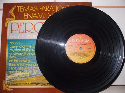 lp- percy faith & sua orquestra - temas p/jovens enamorados