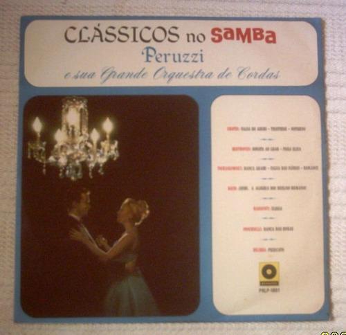 lp peruzzi e orquestra classicos no samba 1967 premier