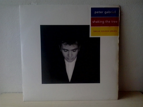 lp peter gabriel shaking the trhee c/encarte estado de novo