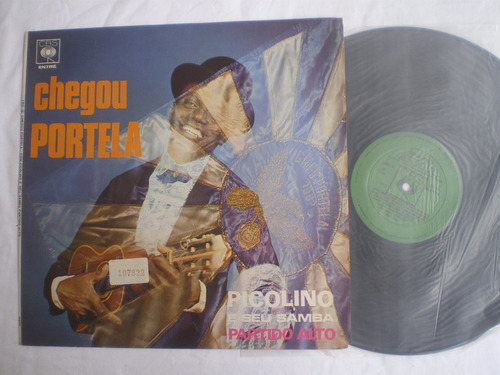 lp - picolino e seu samba / chegou portela / cbs / 1969