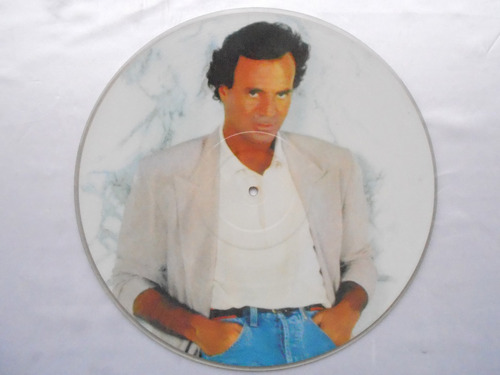 lp picture disc julio iglesi12 polegadas