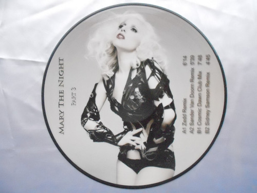 lp picture disc lady gaga- mary the night parte 3