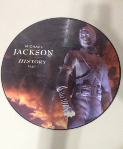 lp - picture michael jackson - history