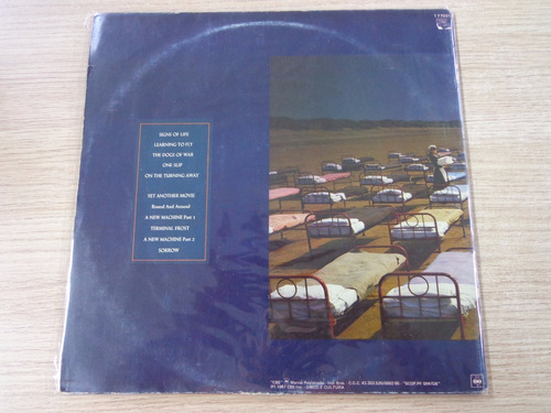 lp - pink floyd - a momentary lapse of reason com encarte