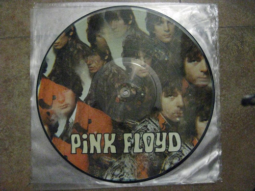 lp pink floyd, the piper at the gates of dawn, foto disco