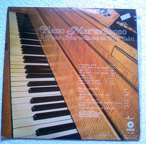 lp pino calvi piano maravilhoso vol1 premier 1971