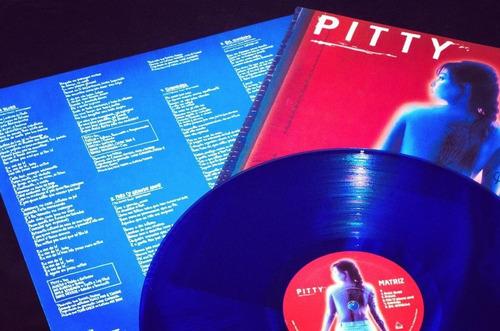 lp pitty matriz vinil azul 180g lacrado encarte com letras