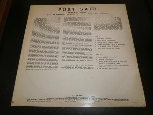 lp port said - música do oriente, disco vinil, ano 1982