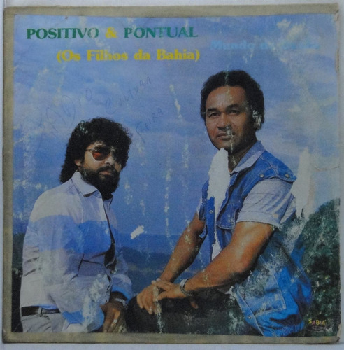 lp  positivo &  pontual -  os filhos da bahia - 1986 -  p051