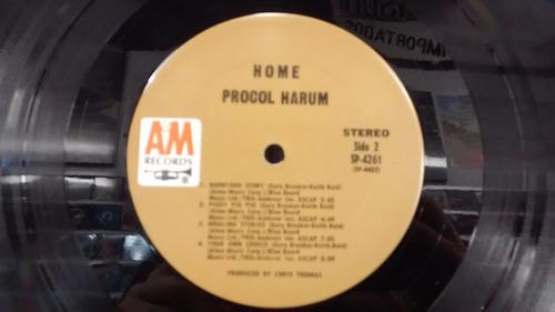 lp - procol harum - home - imp - capa dupla