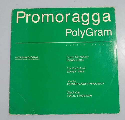 lp promoragga polygram - dancin reggae 1995