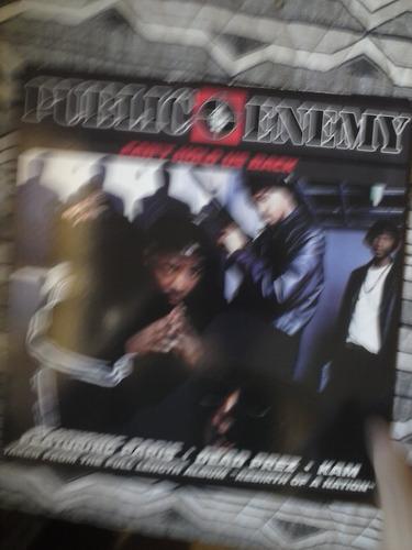 lp -public enemy- can´t hold us back - importado 12´´-single