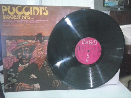 lp puccini's biggst hits (1972)