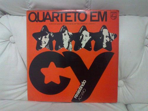 lp - quarteto em cy - resistindo ao vivo