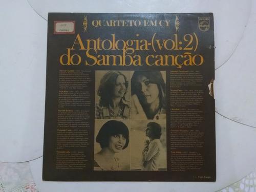 lp quarteto em cy vol.2- antologia do samba cançâo