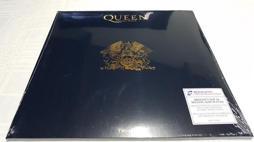 lp  queen greatest hits 2 - duplo 180 g - europeu lacrado