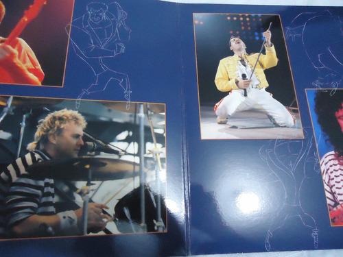 lp - queen - live at wembley '86 - duplo