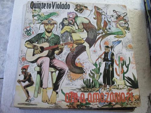 lp quinteto violado, até a amazonia  1978
