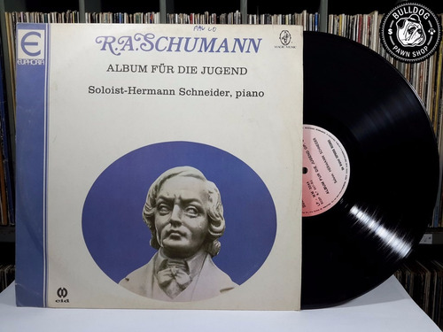 lp r.a. schumann album fur die jugend - veja o video- di