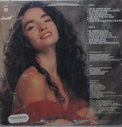 lp rainha da sucata  novela internacional - re001