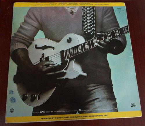 lp raro, george benson, give me the night, 1980, warner bros