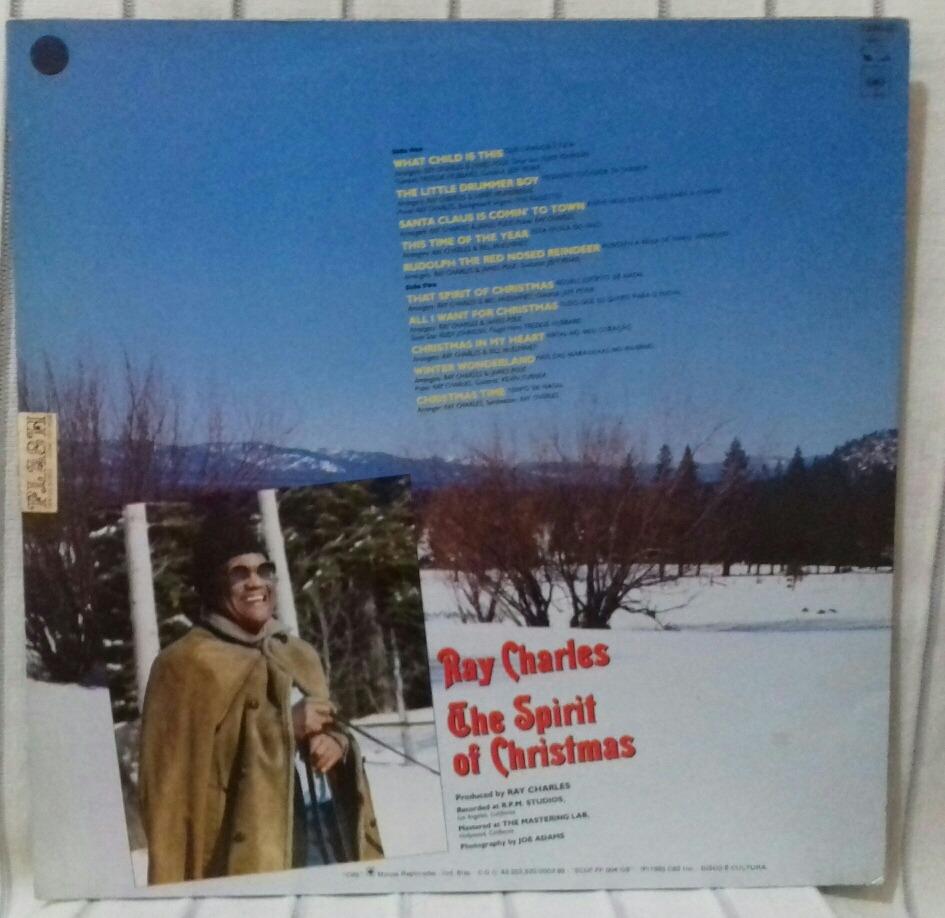 lp ray charles the spirit of christmas 1985 otimo carregando zoom - Ray Charles The Spirit Of Christmas