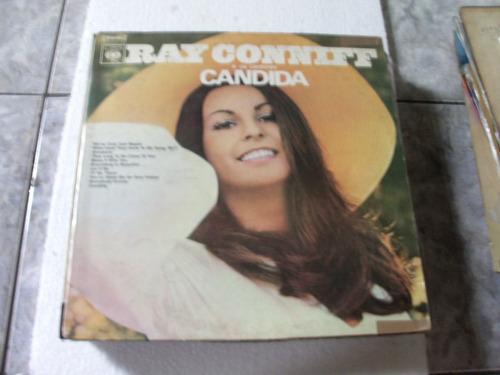 lp ray conniff - e os cantores candida - 1970
