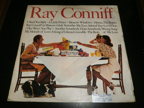 lp ray conniff in moscow, i need you baby, disco vinil 1975