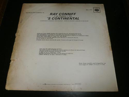 lp ray conniff 's continental, aquellos ojos verdes, vinil