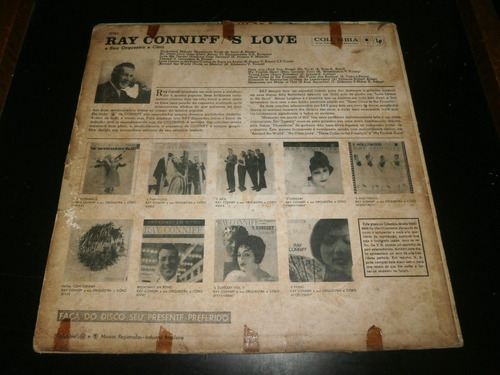 lp ray conniff - 's love, unchained melody, disco de vinil