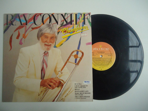 lp ray conniff the champions