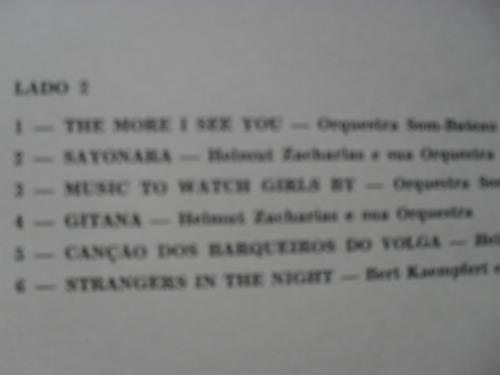 lp - ray o vac  1967 orquestra som - bateau