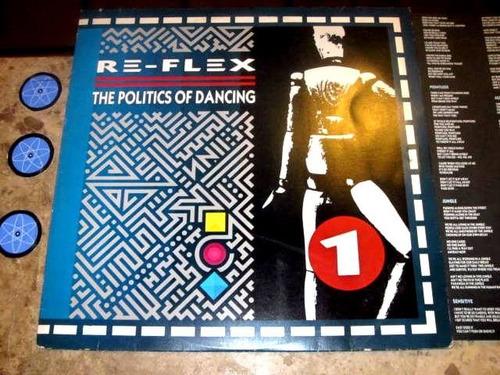 lp re-flex - politics of dancing (1983) c/ encarte