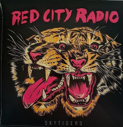 lp red city radio - skytigers - ep vinil 12   novo lacrado