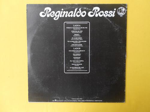 lp reginaldo rossi p/1970- a procura de você disco 01 mg
