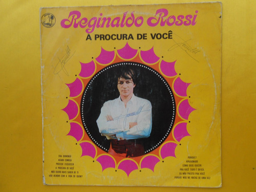 lp reginaldo rossi p/1970- a procura de você disco 02 mg