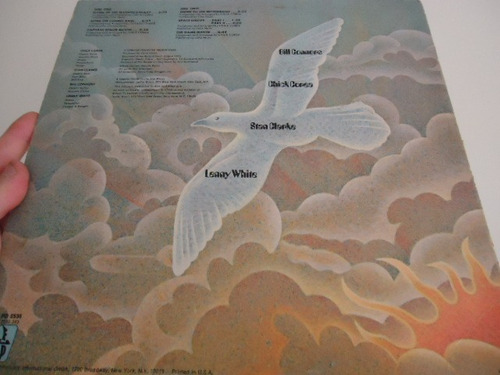 lp - return to forever - hymn of the seventh galaxy - import