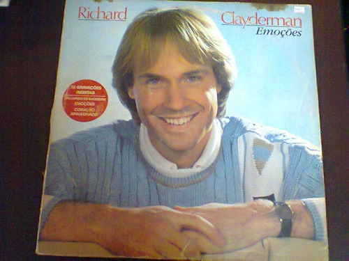 lp richard clayderman - emoções