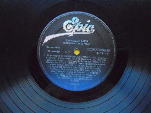 lp richard clayderman p/1980 -sonhos de amor
