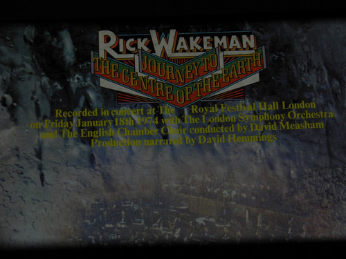 lp rick wakeman journey to centre of earth