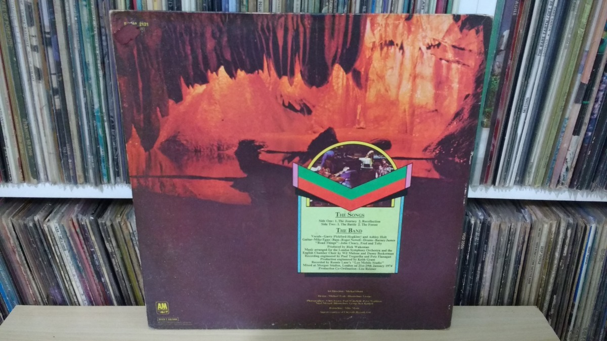 Lp - Rick Wakeman - Journey To The Center Of The Earth - R ...