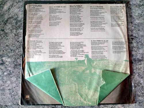 lp - rick wakeman - sin conexión terrestre (ed. nacional)
