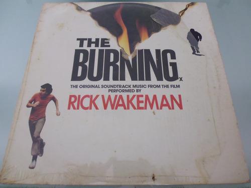 lp / rick wakeman / the burning / importado / made in englad