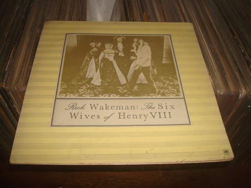 lp rick wakeman: the six wives of henry viii - capa dupla